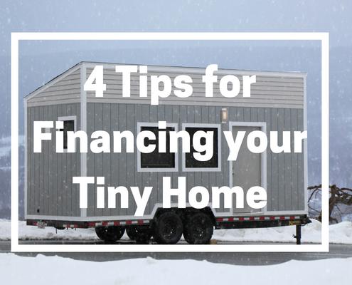 tiny house tiny home financing